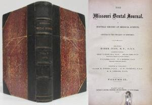 Blythe Journal (THE MISSOURI DENTAL JOURNAL (1872, VOLUME IV) A Monthly Record of Medical Science)
