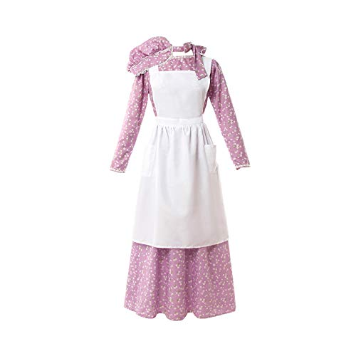 Colonial Costumes For Girls Kids - NSPSTT Women American Pioneer Colonial Dress