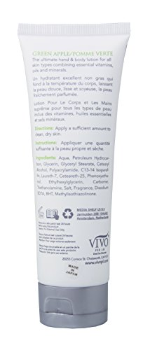 312ViCQUelL - Vivo Per Lei Green Apple Hand and Body Lotion, Lush Anti-Aging Cream to Diminish Fine Lines and Deep Wrinkles, 120 Ml, 4 Fl. Oz. (2 Pack)