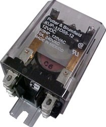 (Generac Guardian 063617 Relay Panel 12VDC DPDT 10A 240VA)