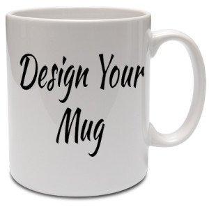 16 Oz Large Coffee Mug Or Tea Cup Glossy