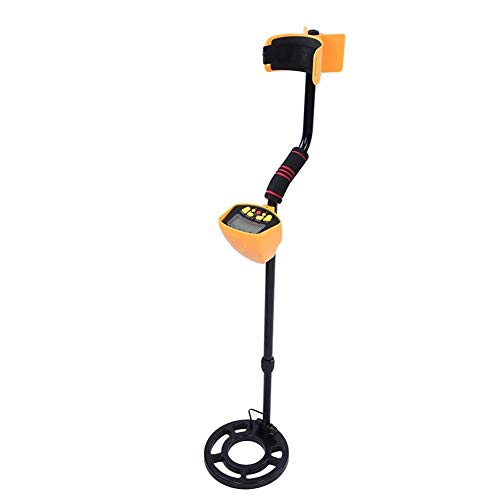 fosa Metal Detector, 6.6khz 3-10ft Detection Depth Treasure Hunters Golden Finder with Adjustable Sensitivity and LCD Display Water Detection Gold Detector