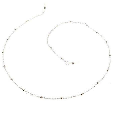 Gold Andux Eyeglass Chains Eyeglass Strap Holder Sunglass Retainer Strap YJL-01