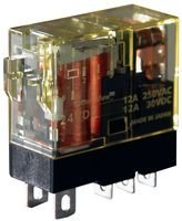 IDEC RJ1S-CL-A24 POWER RELAY, SPDT, 24VAC, 12A, PLUG IN