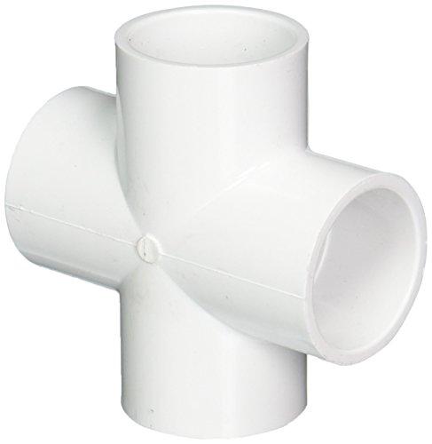 "Genova Products 34415 PVC Sch. 40 Crosses, 1-1/2"""