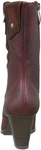 Tamaris Damen 25356 Kurzschaft Stiefel Rot (BORDEAUX 549)