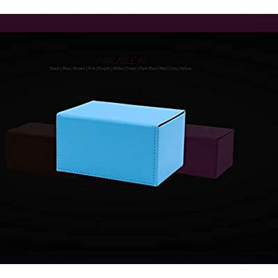 Deck Box: Creation Line Medium 100Ct Blue: Toys & Games