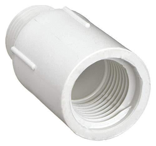 LASCO PVC Riser Extender, MNPT x FNPT, 1/2