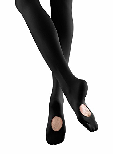 Bloch Youth Endura Hipstar Adaptatoe Tights, Black-M/L