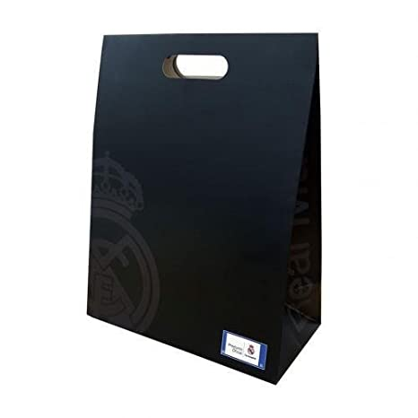 Real Madrid Club de United FC Fútbol bolsa de regalo presente regalo mediano BK cumpleaños: Amazon.es: Bebé