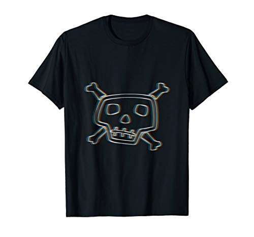 Psychedelic Skull T-Shirt | Trippy Halloween Costume
