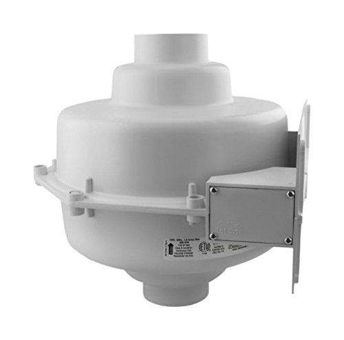 RadonAway 23007-1 GP201 Radon Mitigation Fan, 3''