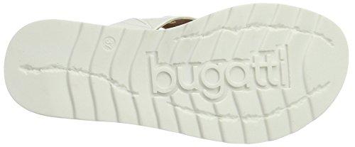 Bugatti Ladies J93906n Muli Bianco (bianco 200)
