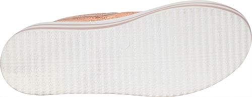 7f7df9355908b Cambridge Select Women's Low Top 90s Lace-Up Striped High Platform ...