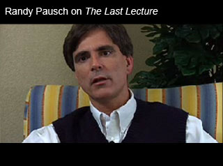 Randy Pausch's Last Lecture