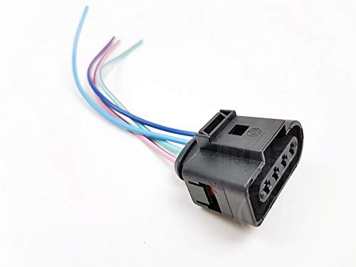 Ignition Coil Pack Connector Plug Wiring Loom Harness 4 Pin 1J0973724: