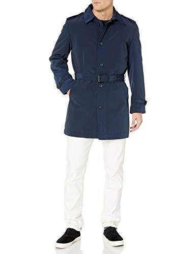 Kenneth Cole New York Men's Reino Bleted Trench Raincoat