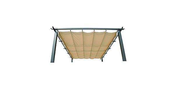 Angel Living 3X3m Top Roof de Aluminio para Recambio de Pérgola ...