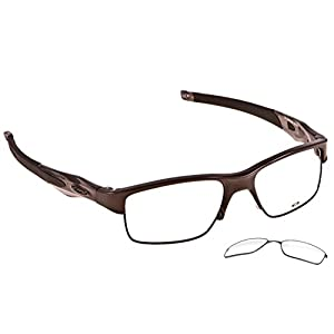 Oakley Eyeglasses Crosslink Switch 100% Authentic (53 mm, Pewter)