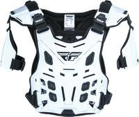 - Fly Racing Revel Off-Road Roost Guard (White, Large)