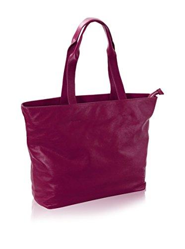Nava Design Borsa A Spalla N_Leather Viola Unica
