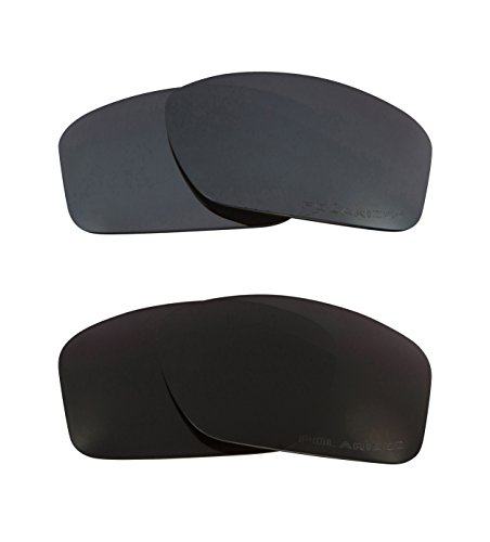 a5ccb8adb3 Best SEEK Replacement Lenses Oakley VALVE - Polarized Black Black Iridium -  Buy Online in Oman.