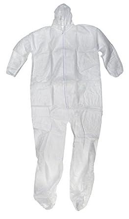 Mutuo Industries 13905 - 0-3 polipropileno desechable traje de ...
