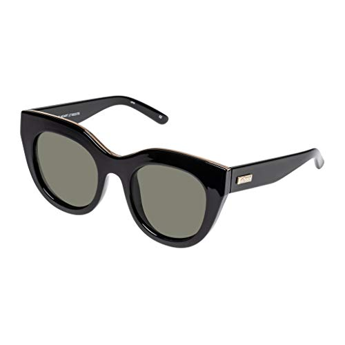 Le Specs. AIR HEART womens BLACK / GOLD eyewear