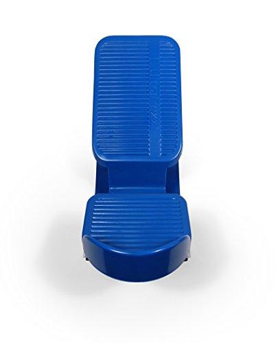 Powerstep UltraFlexx Foot Rocker - Fußstrecker für Plantarfasziitis, Achillessehnenentzündung, Wadenmuskulatur und mehr - erhöht die Flexibilität und Stärke und lindert gleichzeitig Fußschmerzen Blau