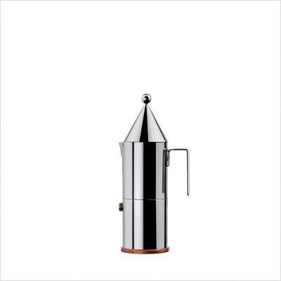 Alessi 90002/3 La Conica Espresso Maker 3 Cups