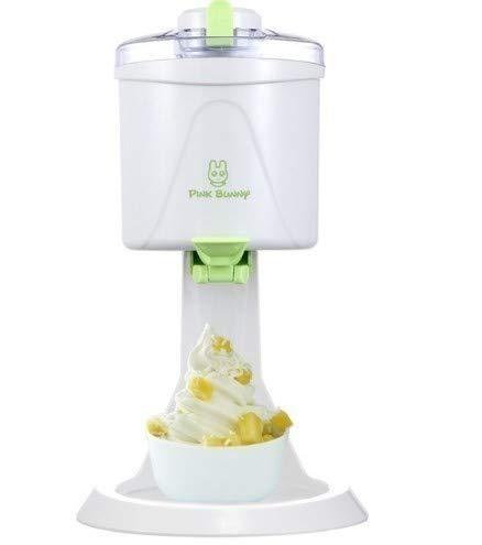 1L 大容量 自動 電動ミニアイスクリームマシン DIY 自家製 アイスクリームメーカー   B07MY42GW2