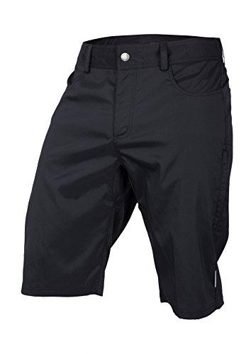 Ride Jersey Shorts - Club Ride Apparel Mountain Surf Cycling Short - Men's Biking Shorts - Black - Large