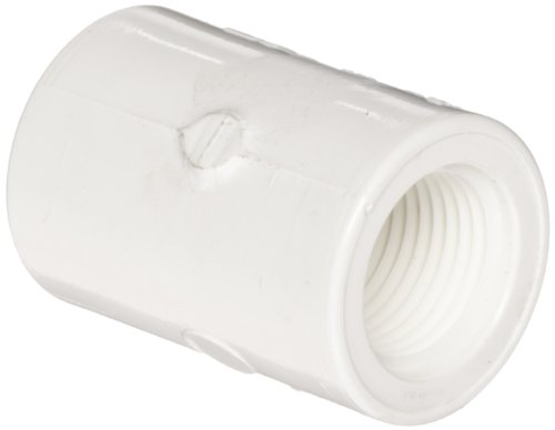 4in Female Pipe - Spears 435 Series PVC Pipe Fitting, Adapter, Schedule 40, White, 4