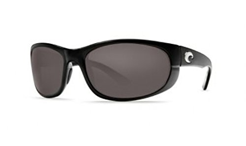 Costa Del Mar Howler Sunglasses, Black/Gray 580Plastic by Costa Del Mar