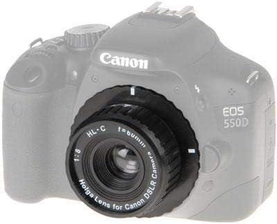 Objetivo 8,0//60 mm HL-C para Canon