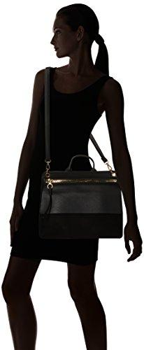 L Cartables Black x H Minimal W Look New cm femme 4x17x26 Ronnie nfOXwxPqF