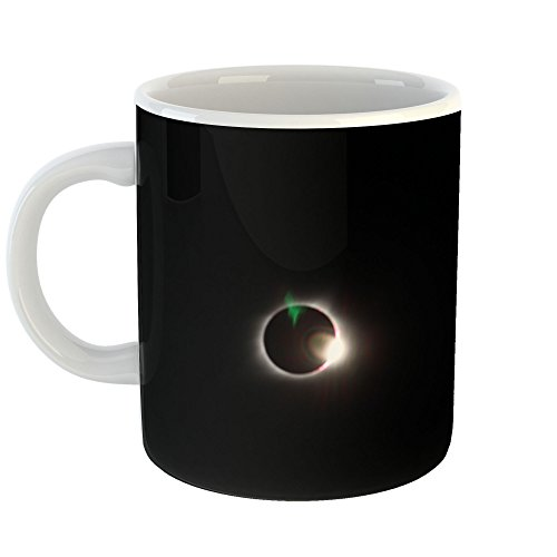 Westlake Art - Solar Moon - 11oz Coffee Cup Mug - Modern Picture Photography Artwork Home Office Birthday Gift - 11 Ounce (1BB1-2910A) by Westlake Art