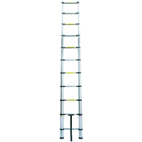 Collapsible Ladder 10 Ft : Idealchoiceproduct ft aluminium telescopic