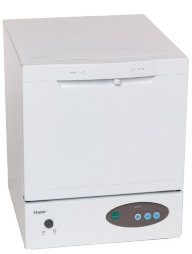 Haier HDT18PA Compact Countertop Dishwasher