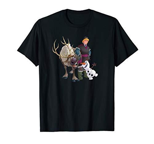 Disney Frozen Kristoff Olaf Sven T-Shirt]()