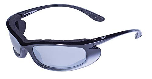 Global Vision Eyewear Shadow Sunglasses, Flash Mirror Lens