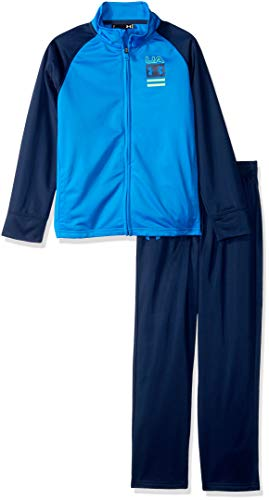 (Under Armour Boys' Little Track Sets, Blue Circuit on The Mark 4 )