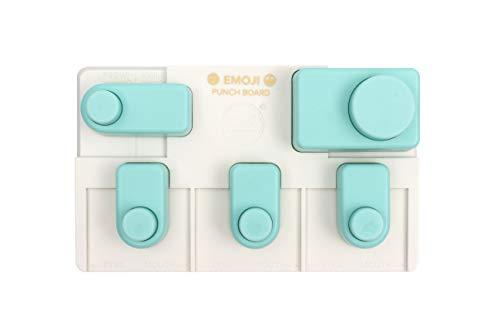 We R Memory Keepers 661810 Emoji Punch Board Tools, Multi by We R Memory Keepers
