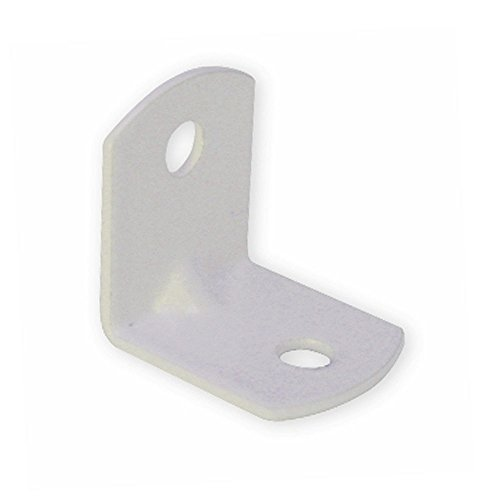 Richelieu Hardware MP52130 Small Metal Bracket, Bag of 1000 Units, White by Richelieu Hardware