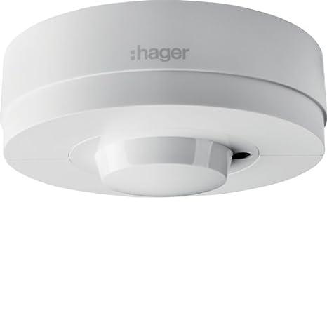 Hager EE883 - Detector movil hiperfrecuencia ip54 superficie blanco: Amazon.es: Bricolaje y herramientas
