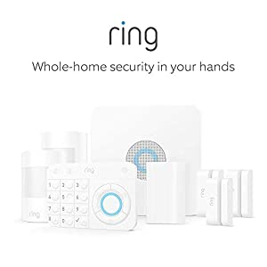 Ring Alarm 8 Piece Kit (1st Gen) – Home Security System with optional 24/7 Professional Monitoring – No long-term contracts – Works with Alexa