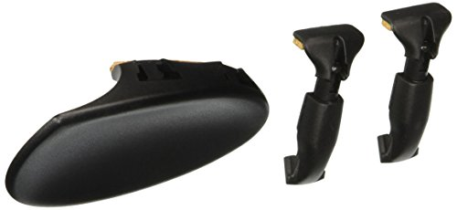 Wittner 250251 1/8-1/16 Inches Composite Chin Rest for Violin, Side Mount, Anatomically Designed