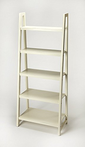 (Offex Floor Standing Traditional Crafted Bookcase - White )