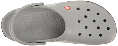Crocband Navy Adulte Crocs Mixte Grey Gris Sabots Light Hwd0dg