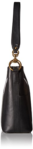 Leather FRYE Harness Bucket Hobo Ilana Black Bag 1UFPUqIrR